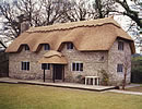 Thatched roof in Up Cerne Dorset