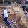 Thatching in Hilton, Dorset